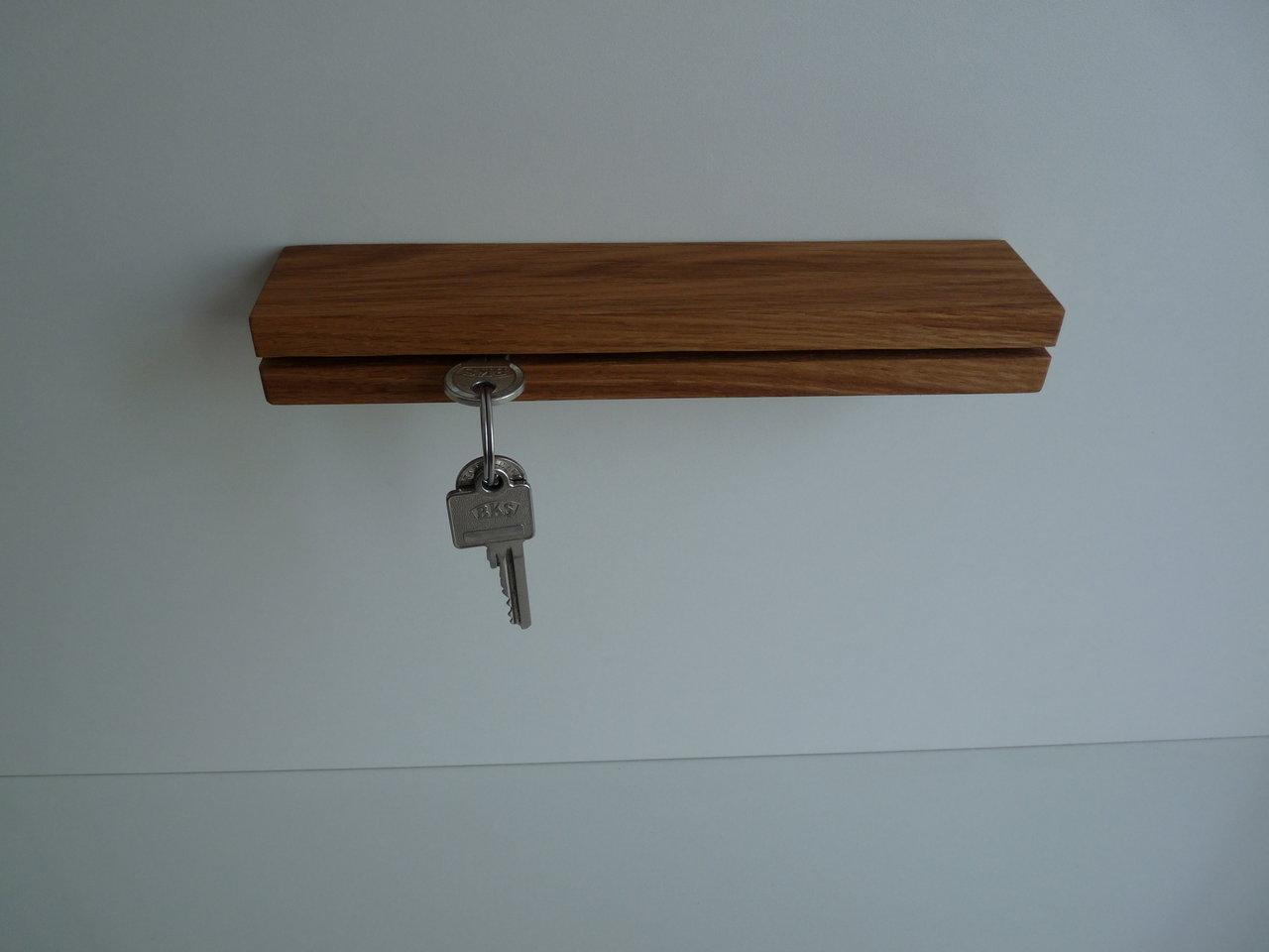Schlüsselbrett Eiche schlüsselbrett eiche - holzkunst blocher